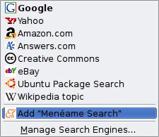 open search menéame