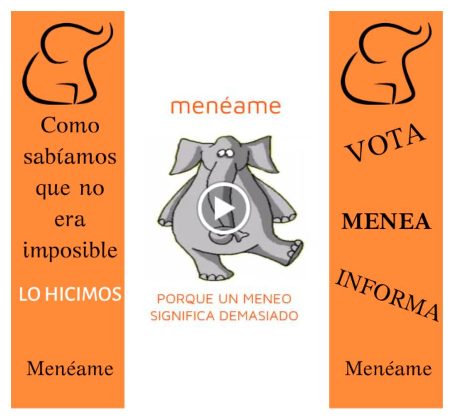 Banner para Menéame