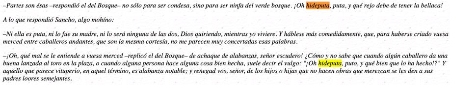 hideputa Quijote
